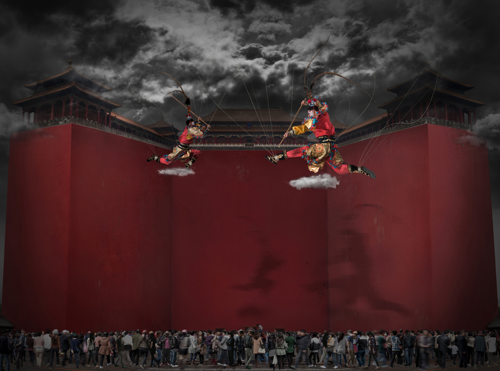 Works of Name: No-ing  Size 1:120 *162cm          2012