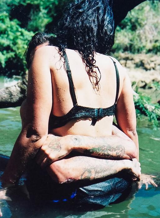 Gabriela y dayson en el rio cuba 2018