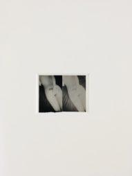 Untitled, 2 prints, 6x4 cm, framed 33 silver gelatin print, unique