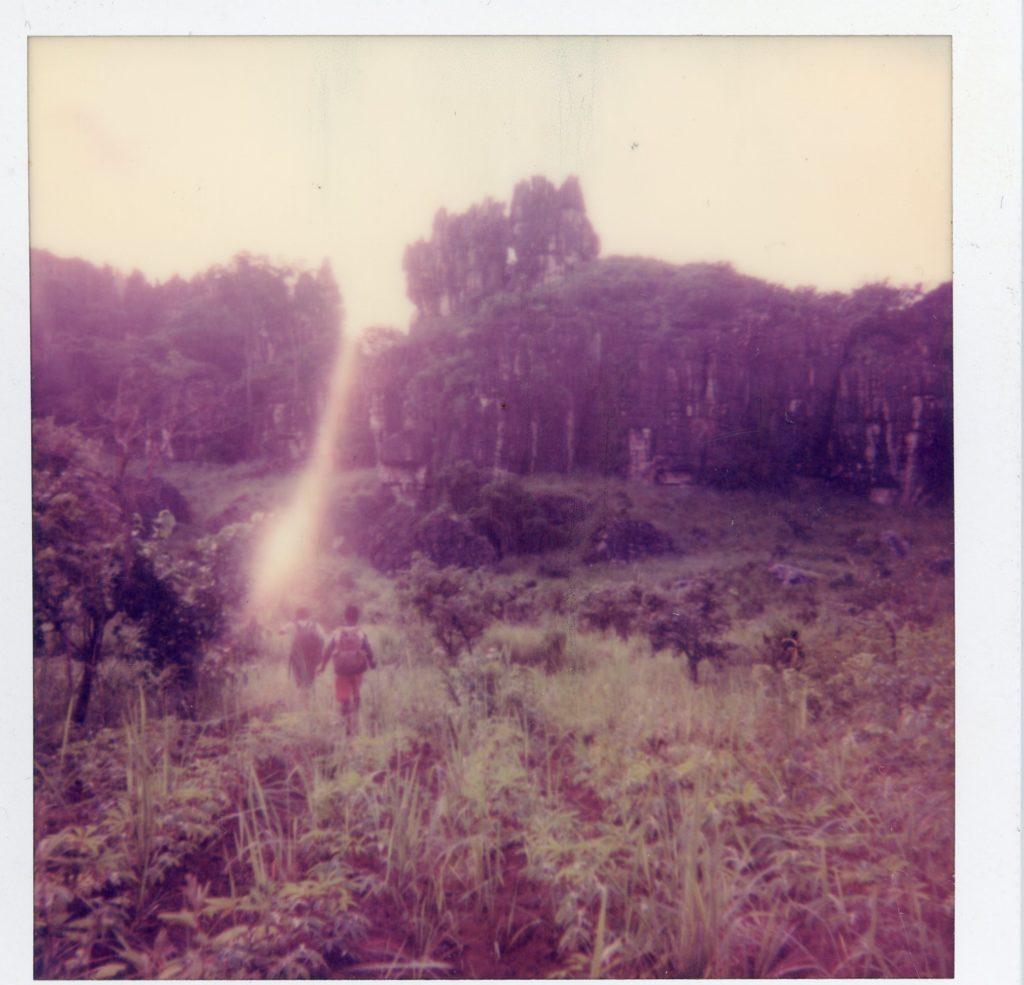 Untitled  100x100 cm ed 3 Scanned Polaroid Inkjet Print
