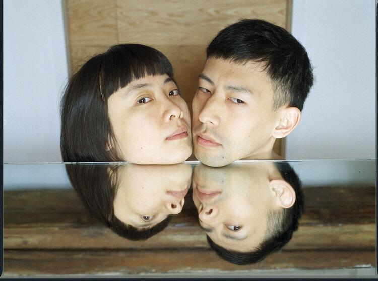 Two heads   100cm x 75 cm  ed 1/3