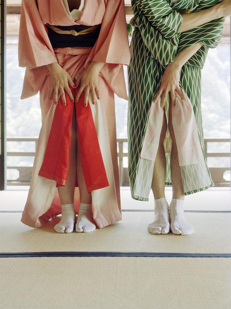 Open Kimono, 2018 50X37 cm