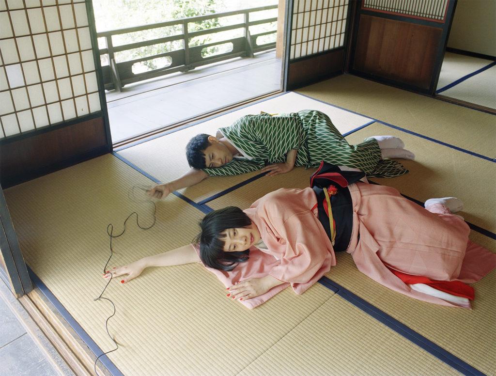 Two Tunas On The Tatami , 100x80 cm