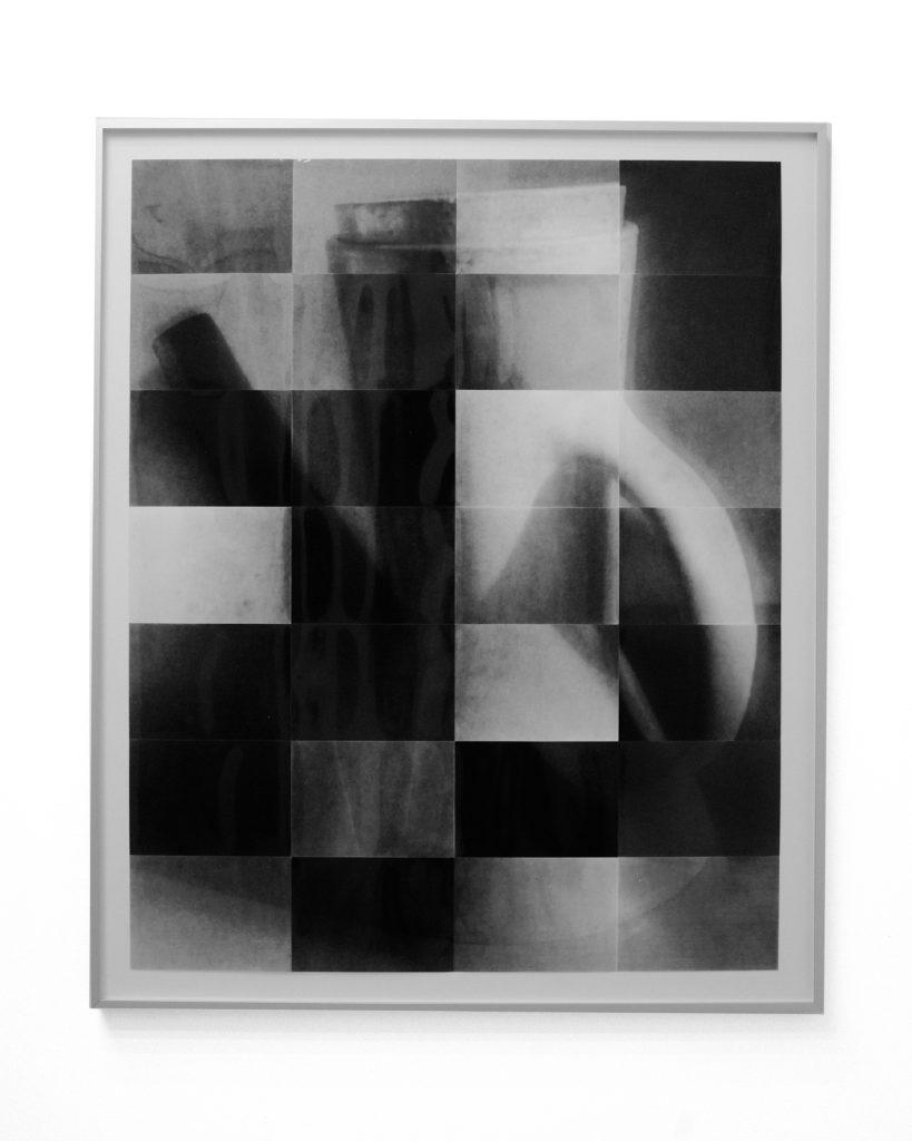 Lamp, lazarus en ledikant #1, 2020, Silver Gelatin Print, Framed 79 x 97 cm