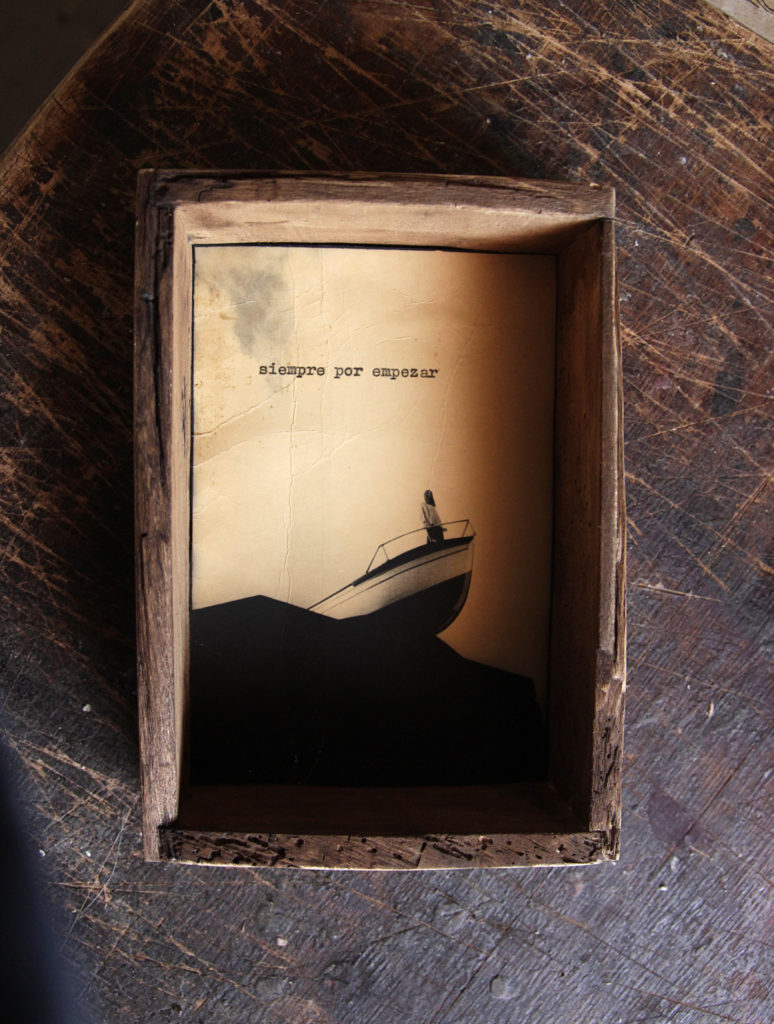 Juanan Requena, Unique Print in wooden box