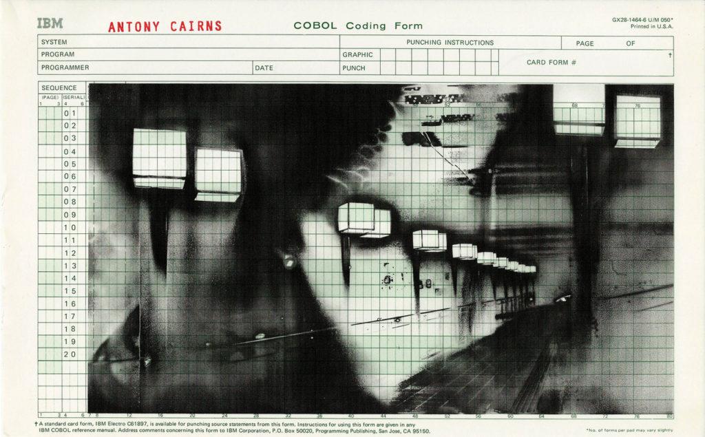 Cobol series, 21.5 x 34.5 cm